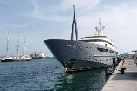 El yate de los 58 millones de euros. Foto: Bermaxo Fotos