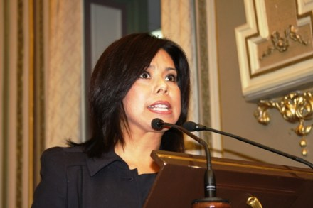 La diputada Ana María Jiménez Ortiz. Foto: tomada de Internet.