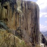 Hierve el Agua, en la Sierra Mixe de Oaxaca. Foto: Especial