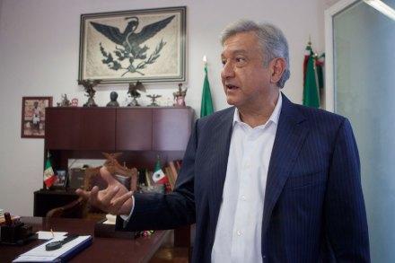 El excandidato a la presidencia, Andrés Manuel López Obrador. Foto: Octavio Gómez