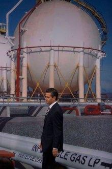 Presenta Peña proyecto de gas natural. Foto: Octavio Gómez