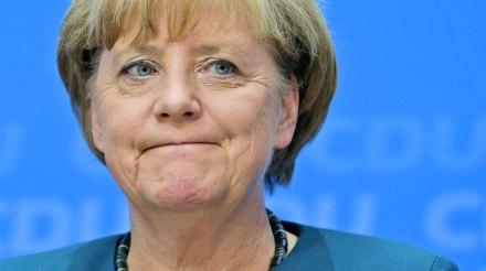 Merkel celebra su reelección. Foto: AP