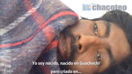 José Sánchez Carrasco, el indigente que murió en Sonora. Foto: Tomada de Youtube