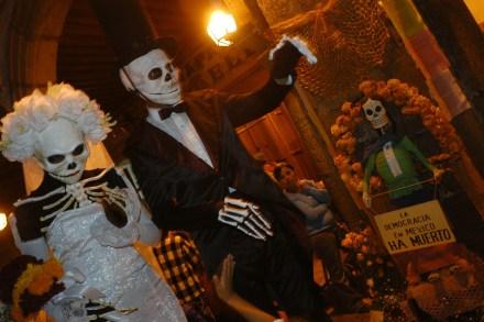 Celebración del Día de Muertos.
