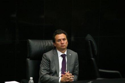 Emilio Lozoya Austin, director de Pemex. Foto: Carlos Mejía