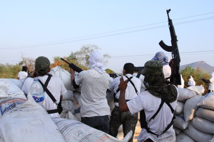 Autodefensa en Michoacán toma La Huacana y Múgica. Foto: Francisco Castellanos