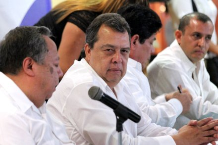 Ángel Aguirre, gobernador de Guerrero. Foto: José Luis de la Cruz