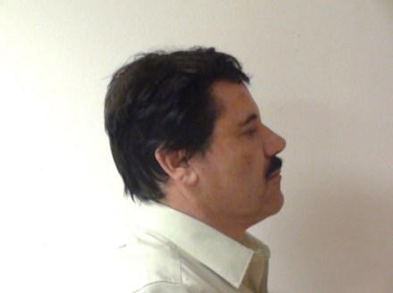 """Joaquín """"El Chapo"""" Guzmán en una foto difundida por la PGR. Foto: PGR"""