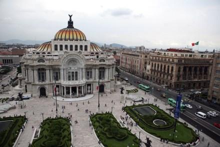El Palacio de Bellas Artes en la Ciudad de México. Foto: Octavio Gómez