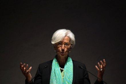 Christine Lagarde, titular del FMI. Foto: AP