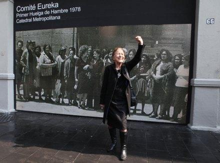 Rosario Ibarra de Piedra, activista y exsenadora. Foto: Benjamin Flores