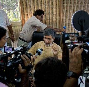 Kailash Satyarthi, Premio Nobel de la Paz 2014. Foto: AP