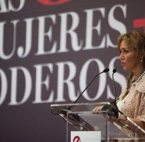 Angelica Fuentes, la aún esposa de Jorge Vergara. Foto: Octavio Gómez