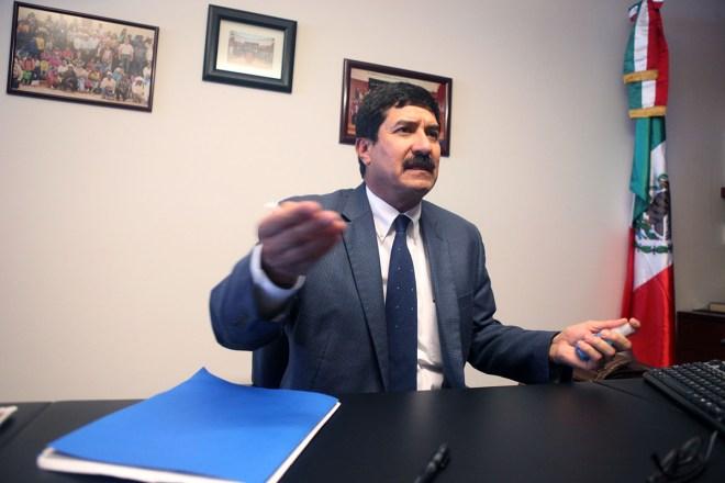 Javier Corral, senador panista. Foto: Benjamin Flores
