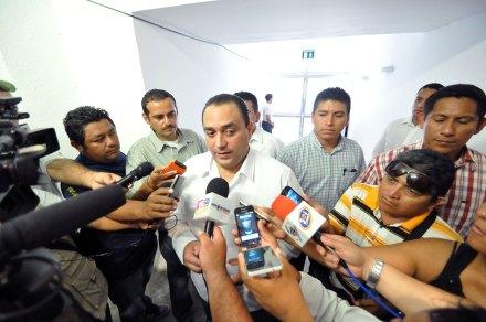 El gobernador priista Roberto Borge. Foto: Víctor Manuel Hernández Luna