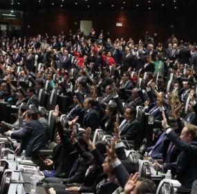 Sesión de la Cámara de Diputados. Foto: Benjamín Flores