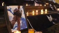Conmemoran en Xalapa dos meses del multihomicidio de la Narvarte. Foto: Fadia Moreno