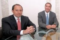 Fernando Manzanilla y Rafael Moreno Valle. Foto: Especial
