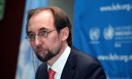 El alto comisionado de Naciones Unidas para los Derechos Humanos, Zeid Ra'ad Al Hussein. Foto: Benjamin Flores