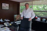 Raúl Cremoux, exdirector general de Canal 22. Foto: Octavio Gómez