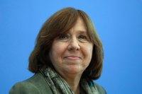 Svetlana Alexievich, escritora bielorrusa que el jueves 8 ganó el Nobel de Literatura 2015. Foto: AP