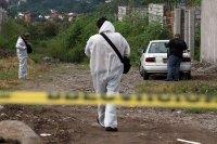 La escena de un crimen en Jiutepec, Morelos. Foto: Margarito Pérez