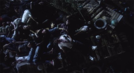 Una de las escenas de la película de Quintanilla y Menéndez.