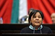 La alcaldesa electa de Temixco, la perredistaGisela Mota Ocampo. Foto: Cámara de Diputados