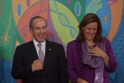 El expresidente Felipe Calderon y su esposa Margarita Zavala en una fotografía tomada en noviembre de 2012. Foto: Octavio Gómez