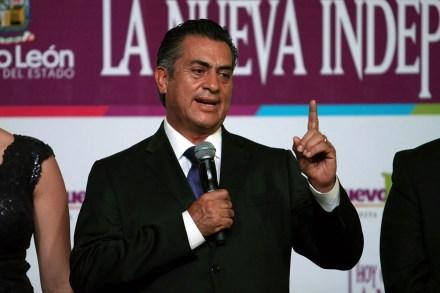 """El gobernador de Nuevo León, Jaime Rodríguez Calderón """"El Bronco"""". Foto: Víctor Hugo Valdivia"""