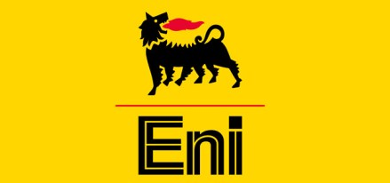 La imagen de la empresa italiana Ente Nacional de Hidrocarburos.