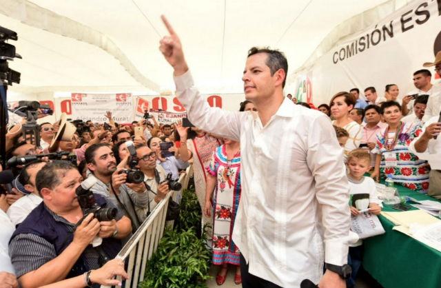 Alejandro Murat, candidato del PRI a gubernatura de Oaxaca