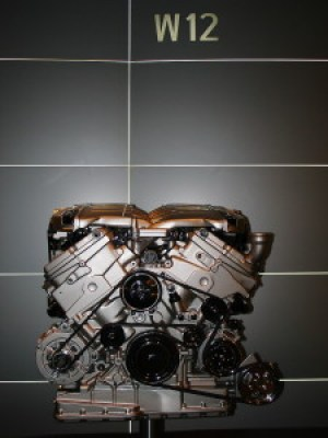 W12 engine from a Volkswagen Phaeton. Image courtesy of Hasse A. on Wikimedia Commons, hosted under CC BY-SA 3.0.