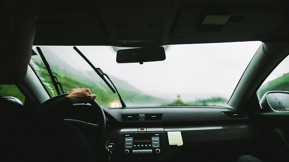 The car's windshield is prone to damage. Image courtesy of Pixabay.com, hosted under CC0.