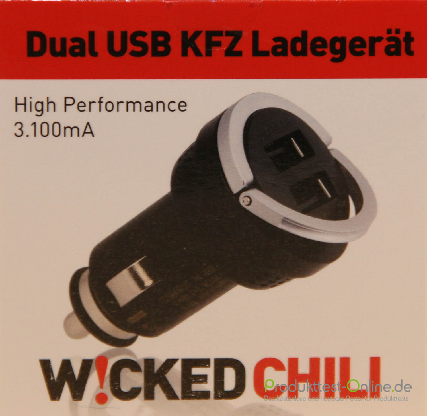 im test wicked chili usb kfz ladeger t. Black Bedroom Furniture Sets. Home Design Ideas