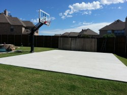 Small Of Backyard Basketball Court