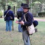Civil War historical interpreter