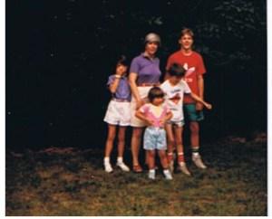 A very 80s family
