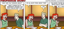 Top ten most popular Professor Hobo comics of 2012