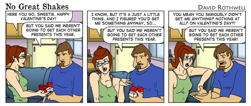 Valentine's Day Lies