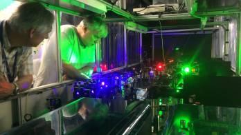 The Resonance Ionization Laser Ion Source (RILIS) är en del av ISOLDE: CERN's anläggning för radioaktiva strålar.