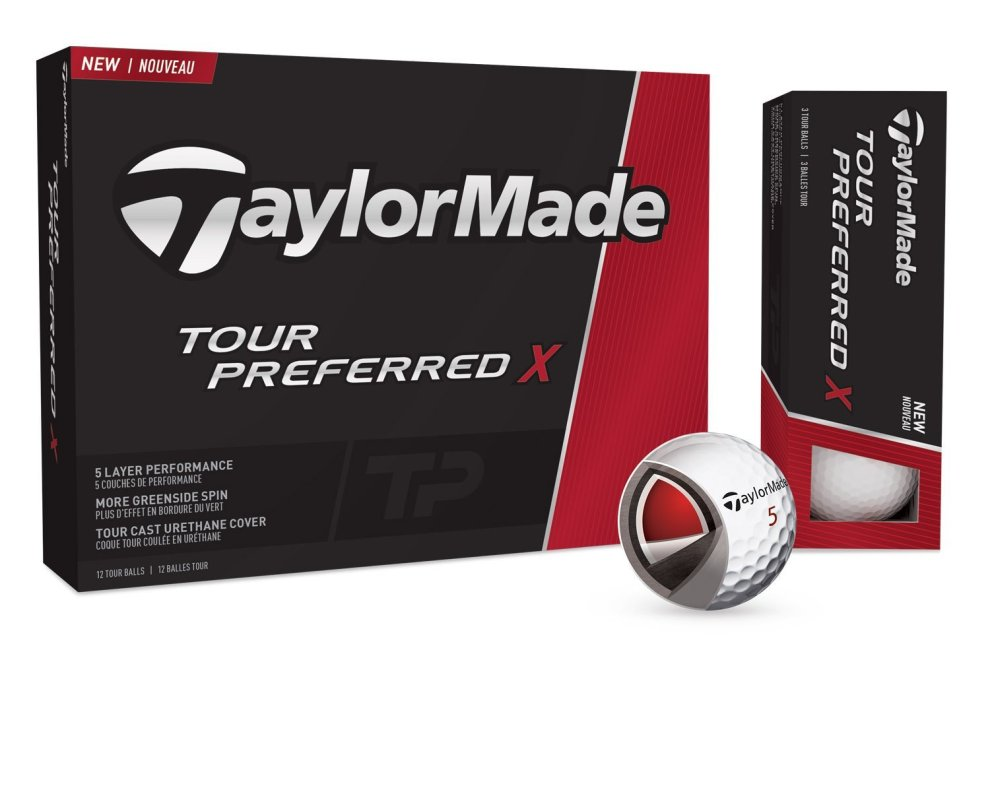 Rookie Jon Rahm will be playing and wearing the full Taylormade lineup, including the Tour Preferred X golf ball. Credit: Taylormade