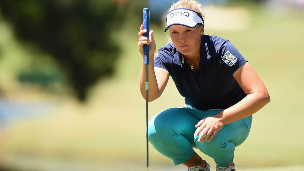 Brooke Henderson made $525,000 on Sunday with her final putt in overtime to win the KMPG Women's PGA Championship.  Credit: GolfNet
