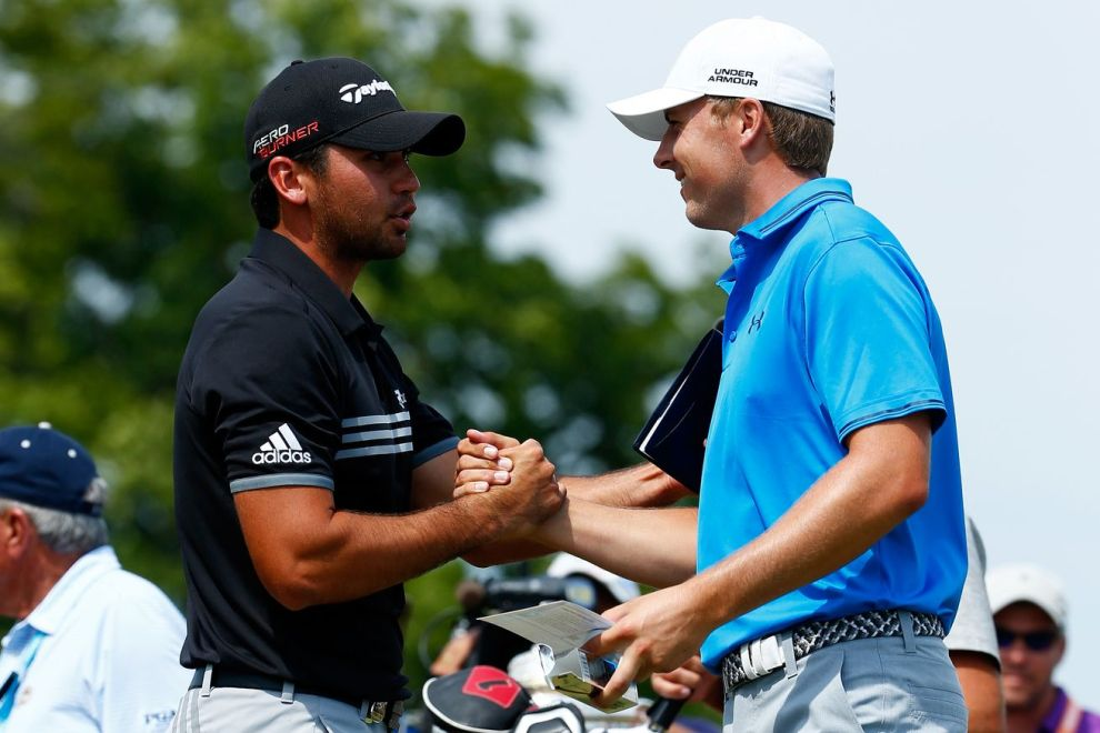 Jason Day and Jordan Spieth, part of the famed Big 3. They will headline the WGC-Bridgestone, along with U.S. Open champ Dustin Johnson. Credit: Getty
