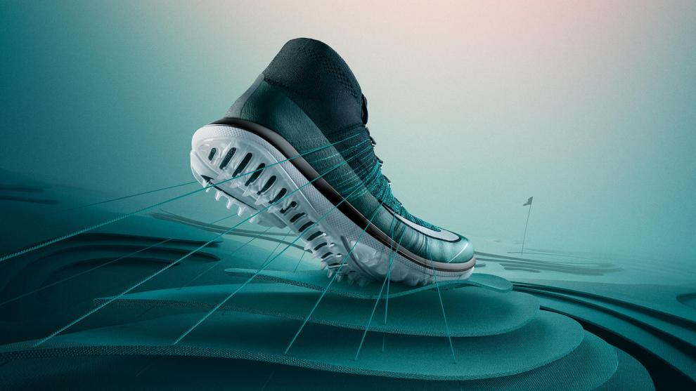 The Nike Flyknit Elite Golf Shoe. Credit: Nike