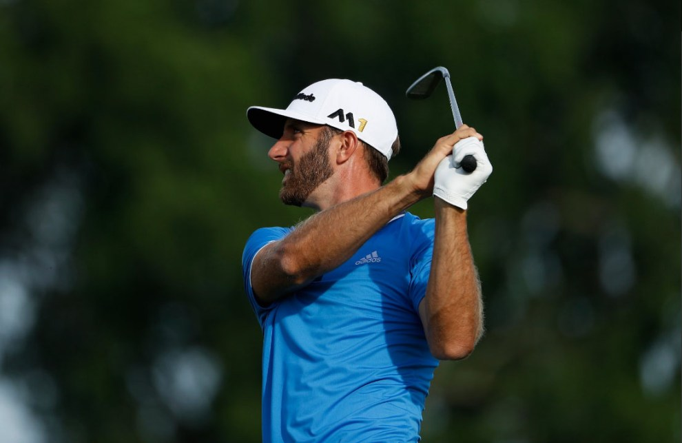 Dustin Johnson won his second consecutive PGA Tour title. This one the WGC-Bridgestone-Invitaitonal. Credit: PGA Tour Twiter