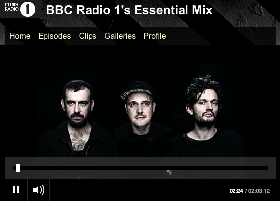 Moderat - BBC Radio 1 Essential Mix