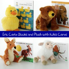Kohls Cares with Eric Carle books