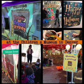 Denver Children's Museum Trick or Treat Street