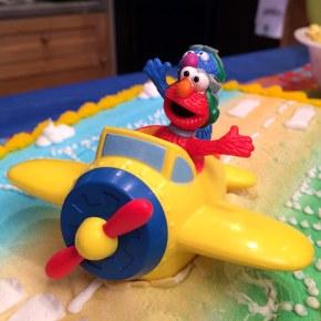 Celebrating Birthdays, Cake and Sesame Street Plus a Giveaway